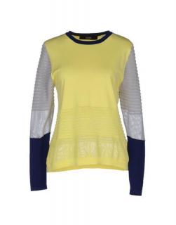 Cut25 Colorblock Long Sleeve Sweater