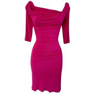 Vivienne Westwood S Sexy Boho Chic Cowl Draped Dress