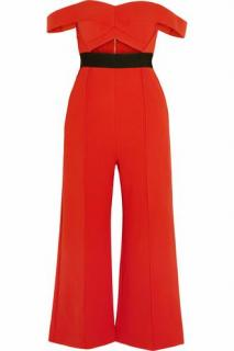 Self Portrait Cutout Jumpsuit