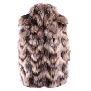 Theory Rabbit Fur Gilet