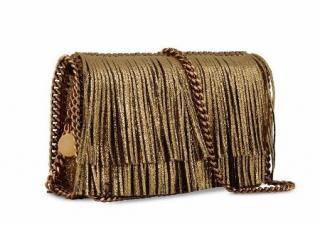 Stella McCartney Gold Fringe Falabella Bag