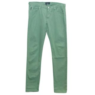 Paul Smith Men's Green Jeans