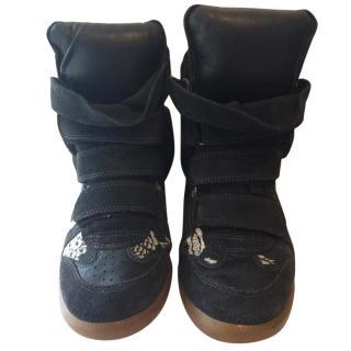Isabel Marant Bekett Sneaker Wedges.