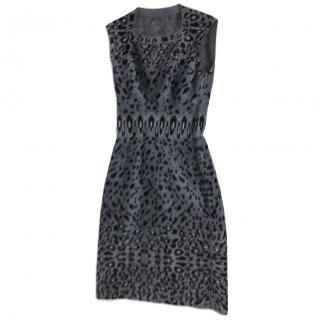 Alaia Leopard Dress
