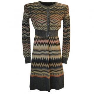 M Missoni Dress and Cardigan Set