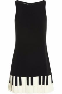 Moschino piano key dress