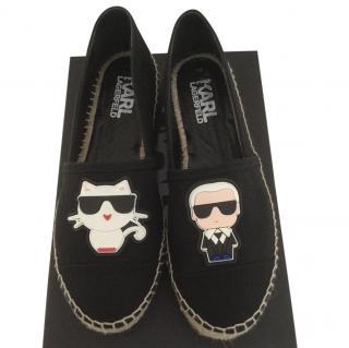 Karl Lagerfeld Cotton Espadrille
