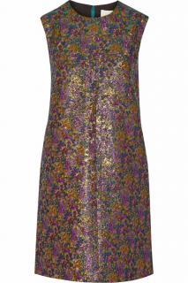 3.1 Phillip Lim metallic jacquard sleeveless dress