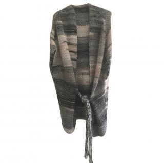 Zadig & Voltaire Long Cardigan and Scarf Set