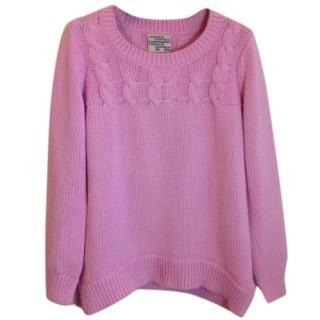 Baum und Pferdgarten cotton candy pink sweater