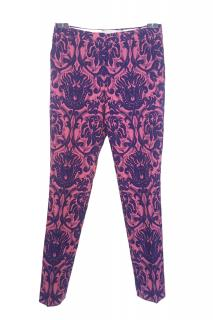 Paul Smith brocade/jacquard skinny fit wool trouser