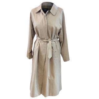 Burberrys Beige Mac Coat