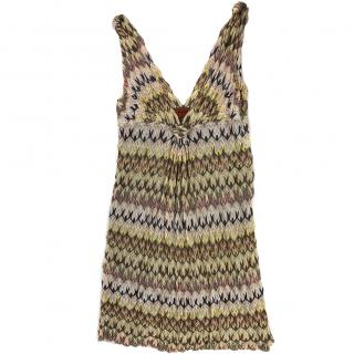 Missoni Green and Brown Dress