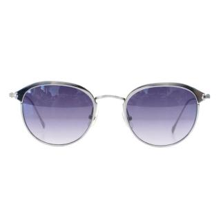 Sama 1998 Antique Silver Sunglasses