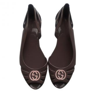 Gucci Jelly Sandals