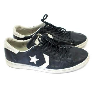 Converse x John Varvatos Men's Black and White Trainers