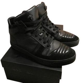 Versace High Top Medusa Sneakers