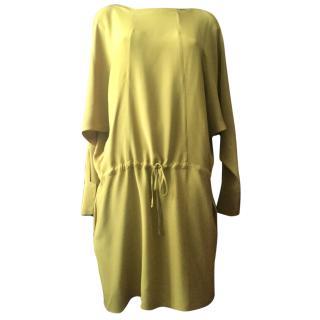 Marni mustard silk dress mustard  size S-M