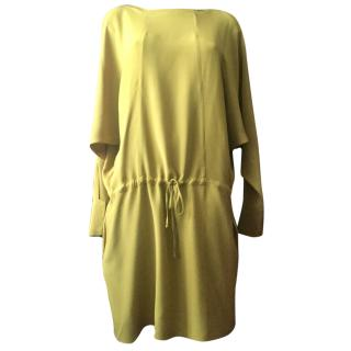 Marni mustard silk dress mustard  size S-M