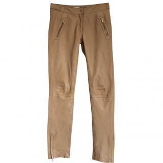 Sandro leather trousers