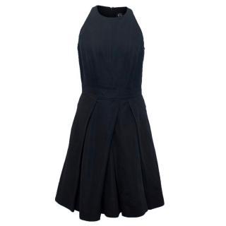 McQ by Alexander McQueen Black Pleated Dress