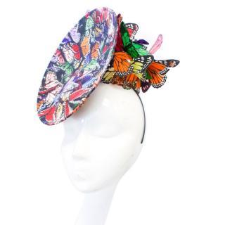 Philip Treacy Butterfly Fascinator Hat
