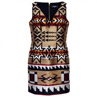 DSquared2 multicolour dress