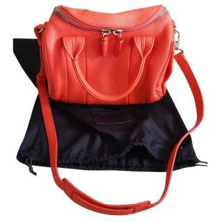 Alexander Wang Rockie orange leather tote