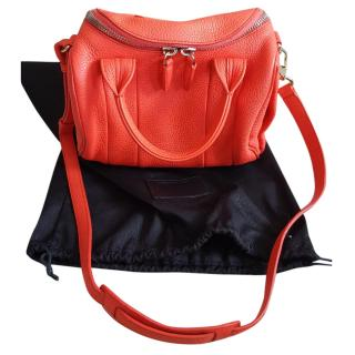 Alexander Wang Rockie orange leather tote