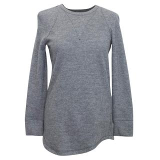 Isabel Marant Grey Wool and Alpaca Blend Jumper