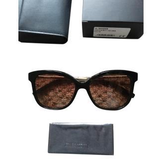 Jil Sander Black sunglasses