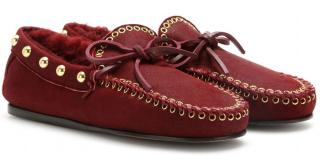 Isabel Marant Burgundy Arapaho Etty Loafers Brand New Boxed UK5 EU38