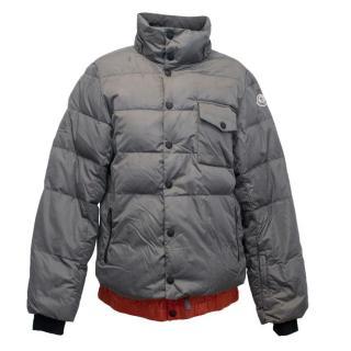 Moncler Grey Puffer Down Jacket