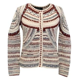 Isabel Marant Multicolour Lurex Cardigan