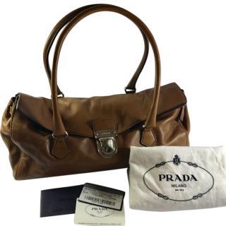Prada Vitello Handbag