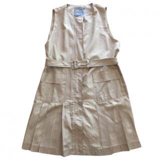 Prada Silk Sleeveless Dress