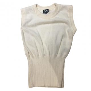 D&G Cream Jumper