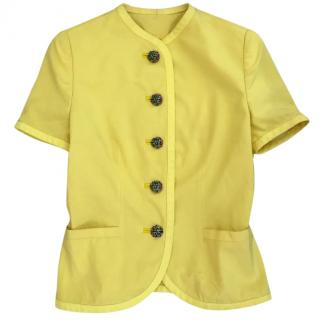 Versus Versace yellow jacket