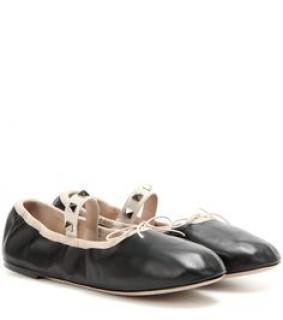 Valentino Rockstuds Ballet Flats
