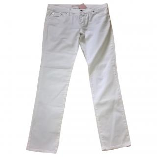 Red Valentino White Jeans