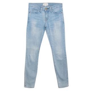 Current Elliott Light Blue Denim Jeans