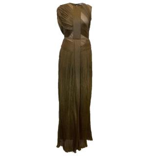 Vionnet Antique Gold Metallic Gown