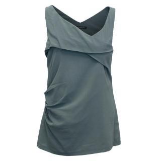 Balenciaga Silk Dark Grey Vest