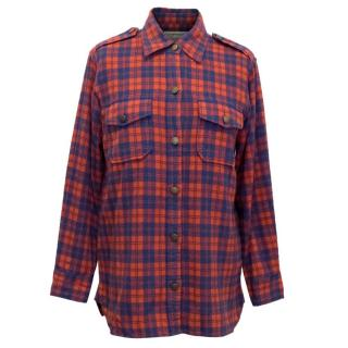 Current Elliott Plaid Checkered Shirt