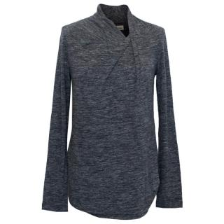 Isabel Marant Etoile Grey Marl Knit Top