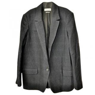 Isabel Marant Etoile Navy Herribone Jacket