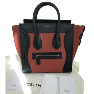 Celine Micro Luggage Tote