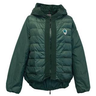 Moncler Unisex Corviglia Ski Club Green Down Jacket