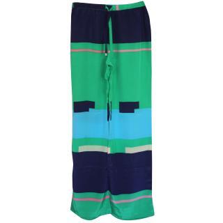 Issa silk Trousers UK 8