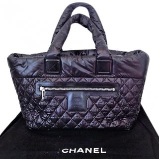 Chanel Cocoon Black Quilted Tote bag